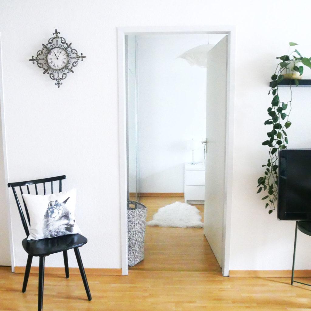 Wohnzimmer Minimalismus Clean Aufgeräumt Ordnung Ordnungscoaching Lisa Schäfer