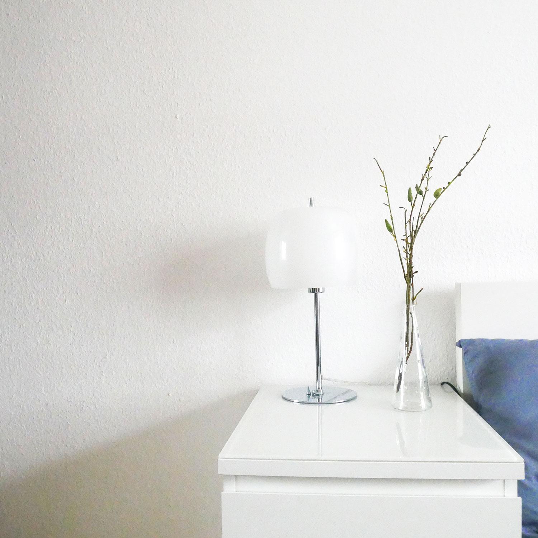 Schlafzimmer Nachttisch Aufgeräumt Ordnung Ordnungscoaching Lisa Schäfer